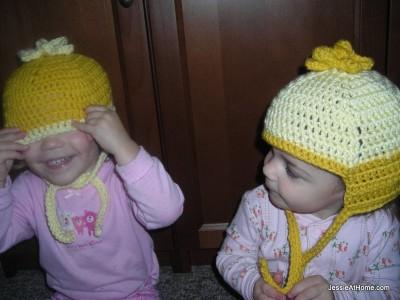 Peek-a-Boo-Hexie-Hat