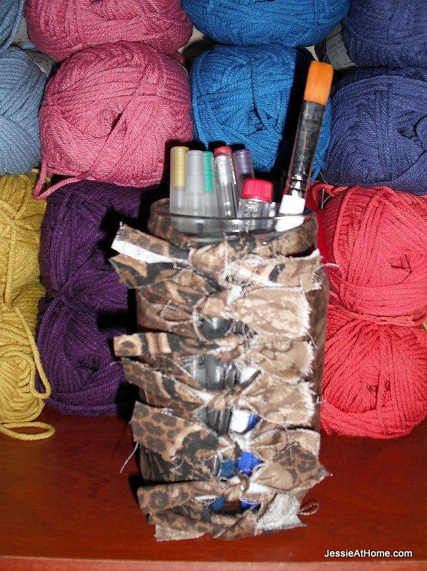 Jar-fabric-cover