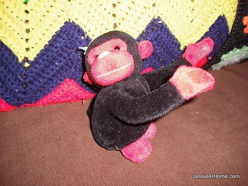 Black-hug-monkey