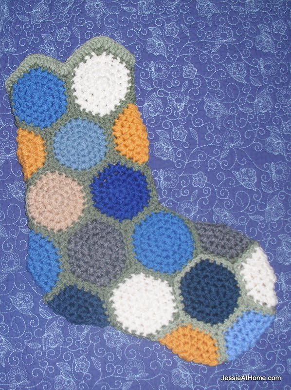 Hexagon-stocking-for-Craft-Hope