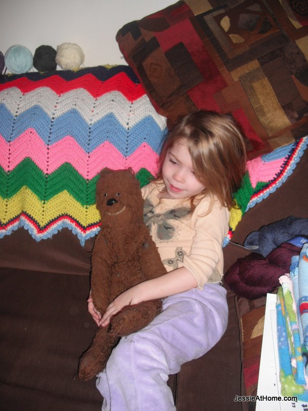 Kyla-cuddling-Chewie
