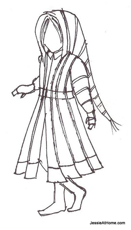 Kat-Coat-Sketch
