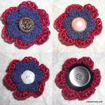 Vintage-Button-Flower-Free-Crochet-Pattern