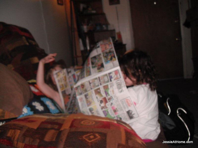 reading-the-Sunday-comics