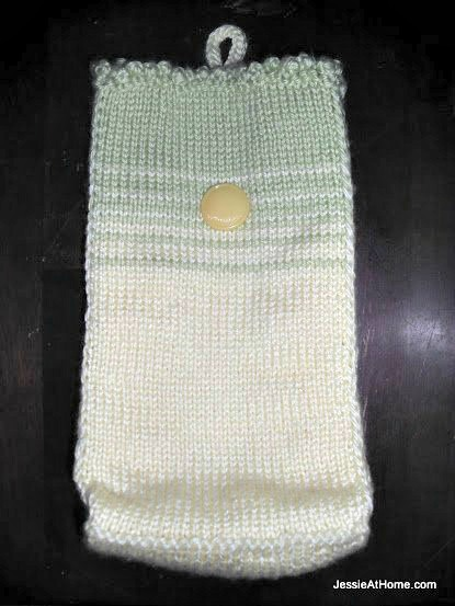Knit-Snack-Bag-Free-Pattern-Green