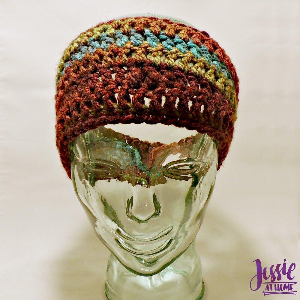 Lorraine ~ Free Crochet Ear Warmer Pattern   Jessie At Home