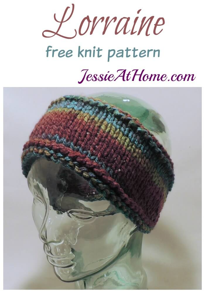 Lorraine - free knit pattern by Jessie At Home