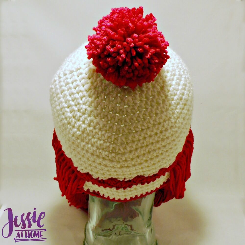 Miss Clause Hat - free crochet pattern by Jessie At Home - 3