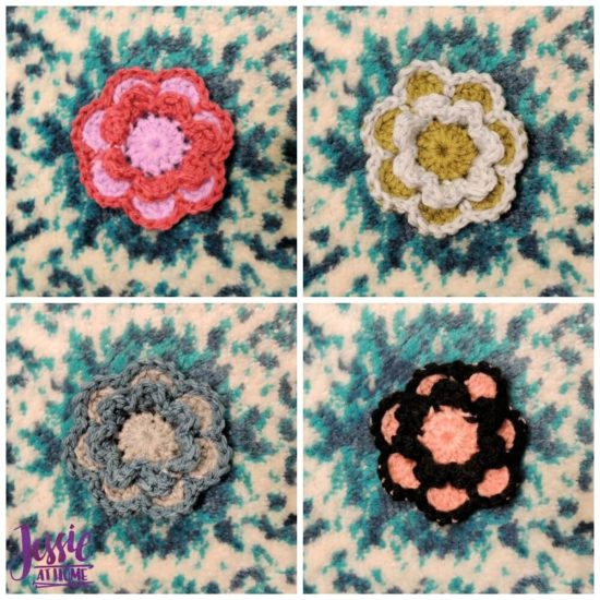 Flower Squared free crochet pattern by Jessie At Home - 1