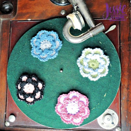 Flower Squared free crochet pattern by Jessie At Home - 2