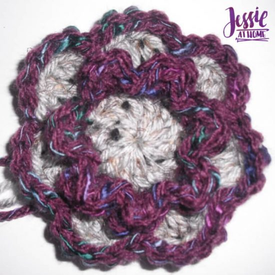 Flower Squared free crochet pattern by Jessie At Home - Flower Done