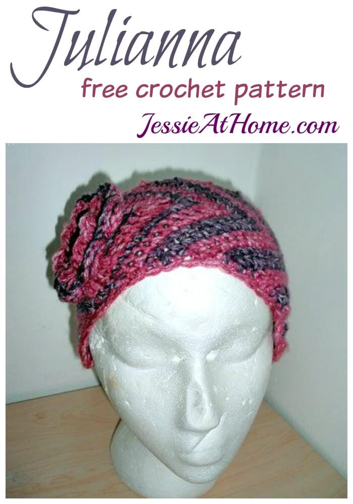 Julianna Free Crochet Ear Warmer Pattern Jessie At Home