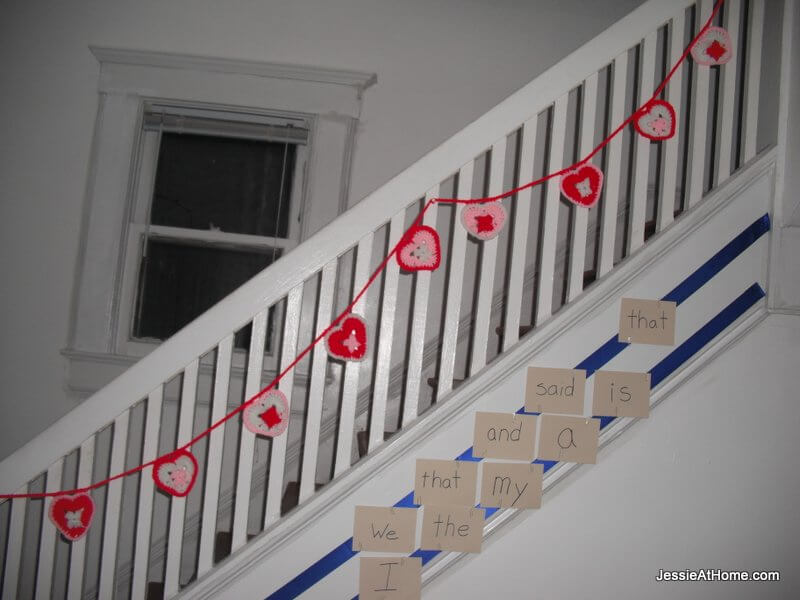 heart-bunting-on-the-stairs