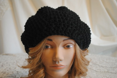 Miranda-Slouch-Hat by Lorene-of-Cre8tion-Crochet