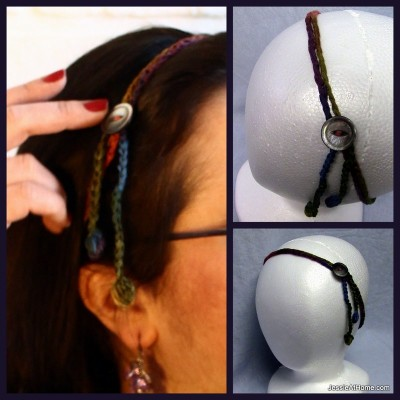 Simple-Crochet-Hair-Tie-Back-with-Button-Free-Crochet-Pattern