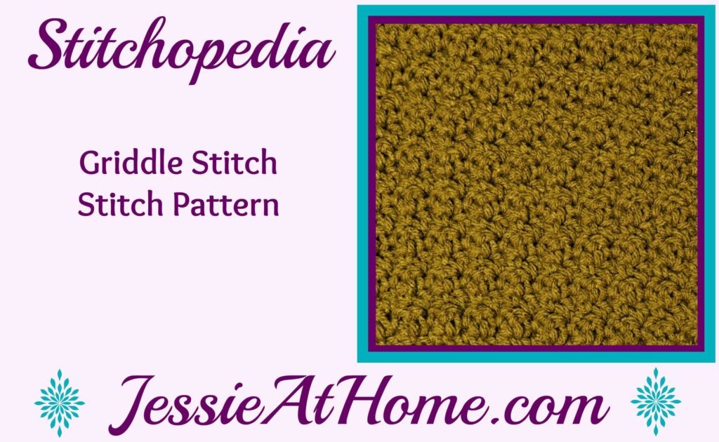 Stitchopedia - Griddle Stitch from Jessie At Home video cover