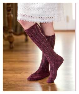 Bon Vivant Stockings ~ Image provided by and used with permission from Interweave/F+W