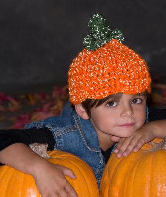 Lil' Pumpkin Hat