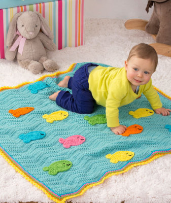 School of Fish Blanket