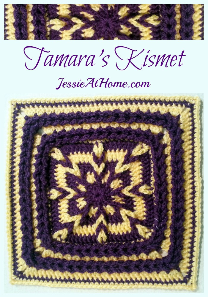 Tamara's Kismet Square Free Crochet Pattern by Jessie At Home