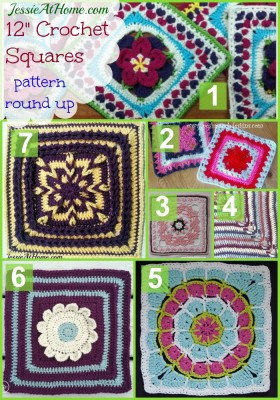 Wednesday Round Up 1 07 15 12 Quot Afghan Squares Jessie