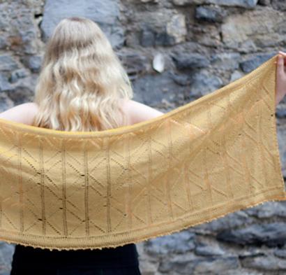 De Danann Shawl Kit #CrochetKit from @beCraftsy