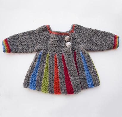Eloise Sweater Kit #CrochetKit from @beCraftsy