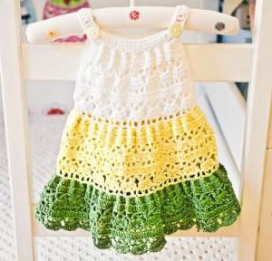 Crochet Tiered Dress Kit #CrochetKit from @beCraftsy
