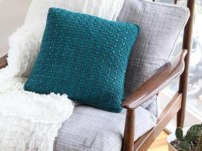 Everyday Lace Pillow #CrochetKit from @beCraftsy
