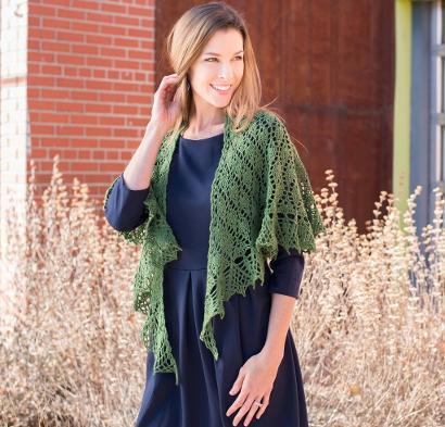 Small Talk Shawl Kit #CrochetKit from @beCraftsy