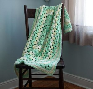 Dreamy Baby Afghan Kit #CrochetKit from @beCraftsy