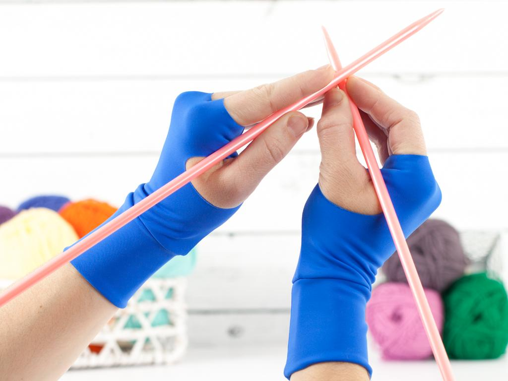 Lion Brand Stress Relief Gloves