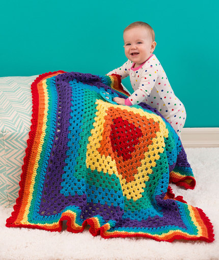 Radiant Rainbow Blanket Jessie At Home