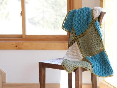 Amazing Crochet Textures Afghan Kit #CrochetKit from @beCraftsy