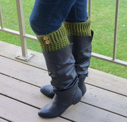 Brooklyn Crochet Boot Liners Kit #CrochetKit from @beCraftsy