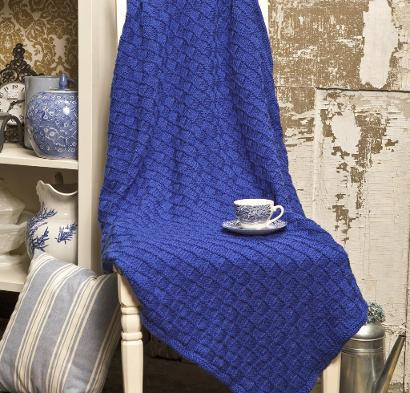 Checkerboard Afghan Kit #KnitKit from @beCraftsy