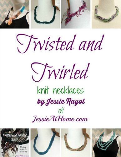 Twisted and Twirled Knit Necklaces eBook