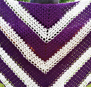 Lattice Comfort Shawl Kit #CrochetKit from @beCraftsy