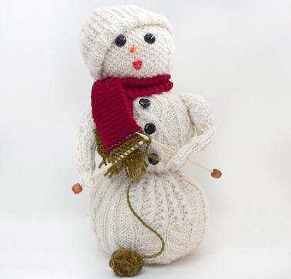 Frost Flower Kit #KnitKit from @beCraftsy