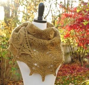 Cedar Grove Shawl Kit #KnitKit from @beCraftsy