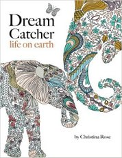 Dream Catcher - life on earth - A powerful & inspiring adult colouring book celebrating the beauty of nature