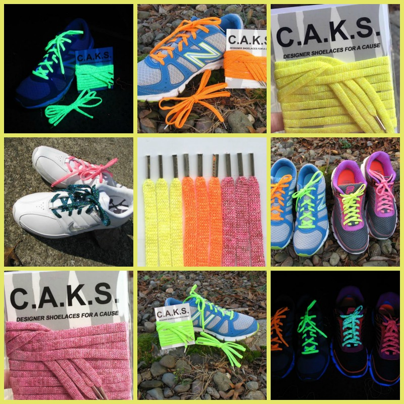 C.A.K.S. Designer Shoelaces for a Cause
