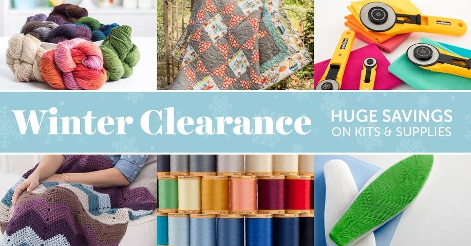 Craftsy Winter Sale