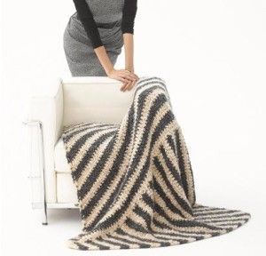 Urban Industrial Afghan Kit #CrochetKit from @beCraftsy