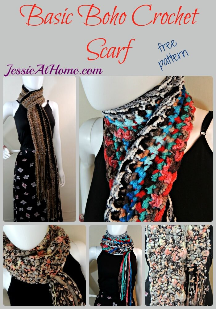 Basic Boho Crochet Scarf So Fashionable And Easy