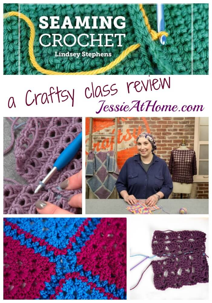 Seaming Crochet Craftsy class review from Jessie At Home