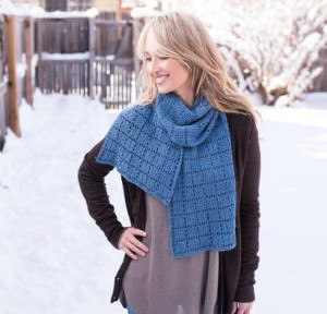Squares Squared Scarf Kit #CrochetKit from @beCraftsy