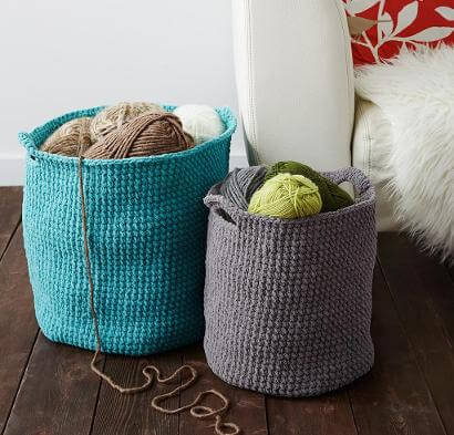 Free Crochet Basket Patterns Jessie At Home Magnificent Free Crochet Basket Patterns