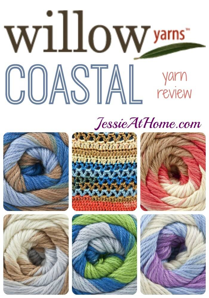 Willow Yarns Coastal yarn review from Jessie At Home