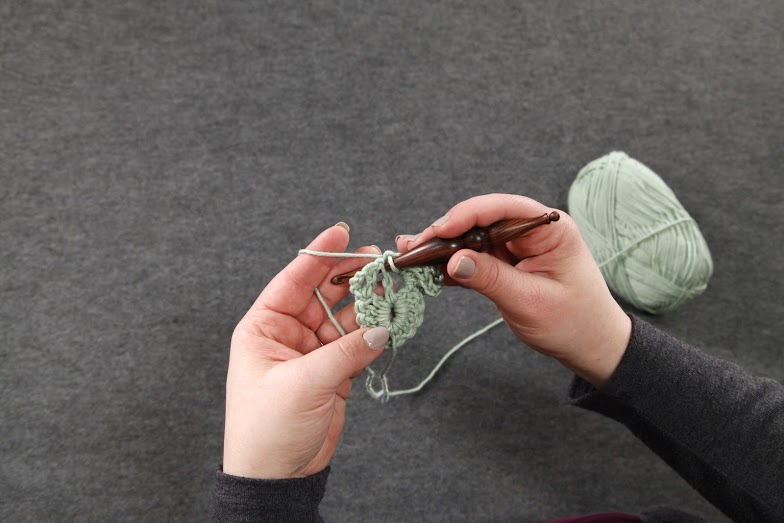 Crocodile Stitch in the works